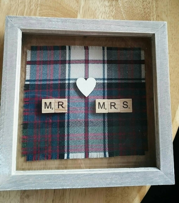 Scottish Wedding Gifts: MR & MRS Scottish Wedding Gift Anniversary Gift Scottish