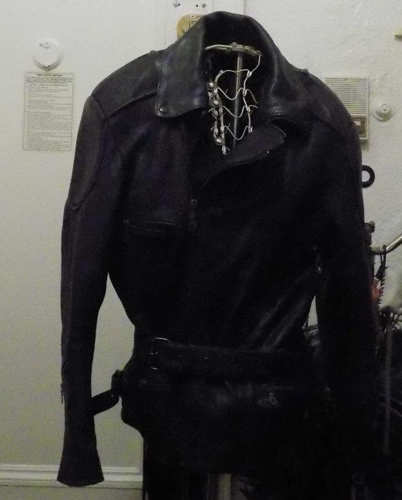 Richa Chopper/Cruiser Leather Motorcycle Jacket