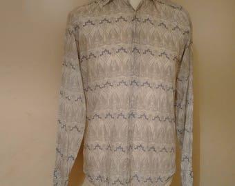 LIBERTY OF LONDON shirt // London vintage fashion, Liberty Prints, Liberty fabric, Vintage Liberty of London