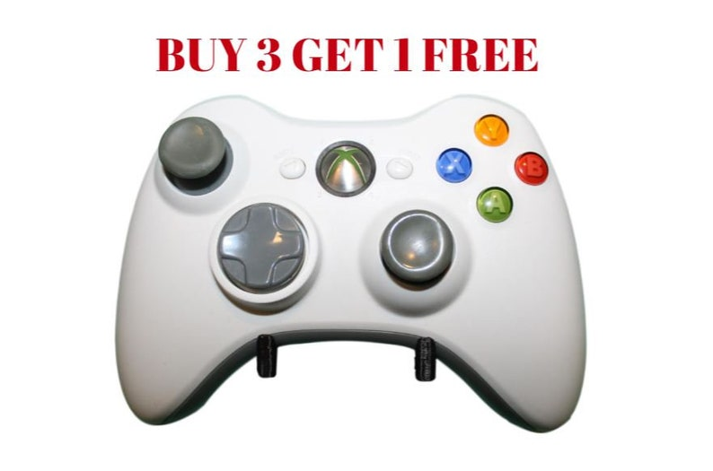 BUY 3 GET 1 FREE| Xbox 360 Controller Wall Mounts/Display, Damage-Free,  Command Strip Included, Microsoft