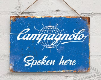 COLNAGO Replica Vintage Metal Wall Sign Plaque Mancave Bike Cycle Retro Tour
