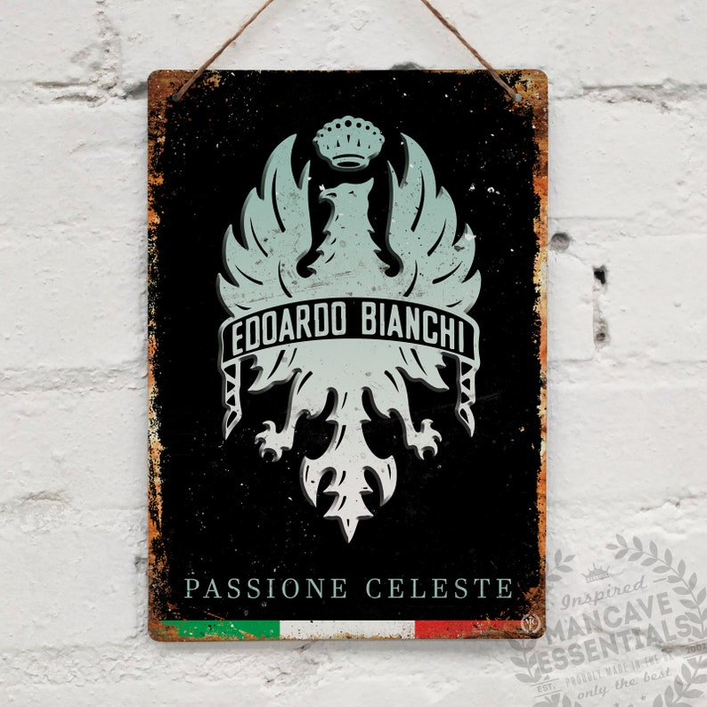 MOLTENI Campagnolo Vintage Metal Wall Sign Retro Bike Gift Cycling Tour Merckx