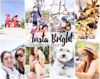 InstaBright LIGHTROOM Presets, lightroom mobile preset, lightroom presets , Influencer, blogger presets, Desktop Preset, Instagram