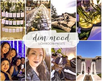 Dim Mood LIGHTROOM Presets, lightroom mobile preset, lightroom presets , Influencer, blogger presets, Desktop Preset, Instagram