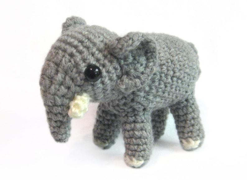 Amigurumi Crochet Toy - Elephant Cloudy 12.5
