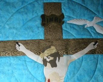 Crucifix pattern of Jesus Christ