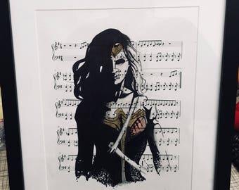 Wonderwoman art