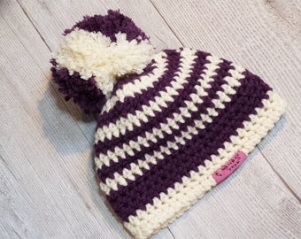 c9dd4c64a Crochet bomb hat | Etsy