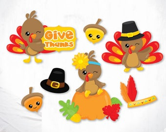 Thanksgiving Turkey cutting files svg, dxf, pdf, eps included - cut files for cricut and silhouette - Cutting Files SVG