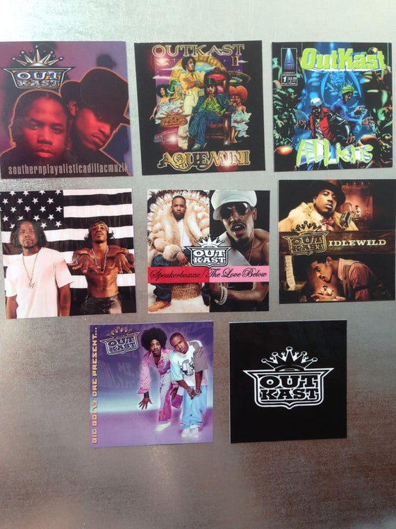 Outkast MAGNETS Collectible Music Gift Rap Hip Hop Rb Big Boi