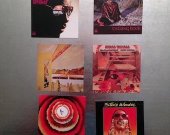 Stevie Wonder MAGNETS 70'sclassic albums MOTOWN TAMLA funk RnB keyboard  vinyl