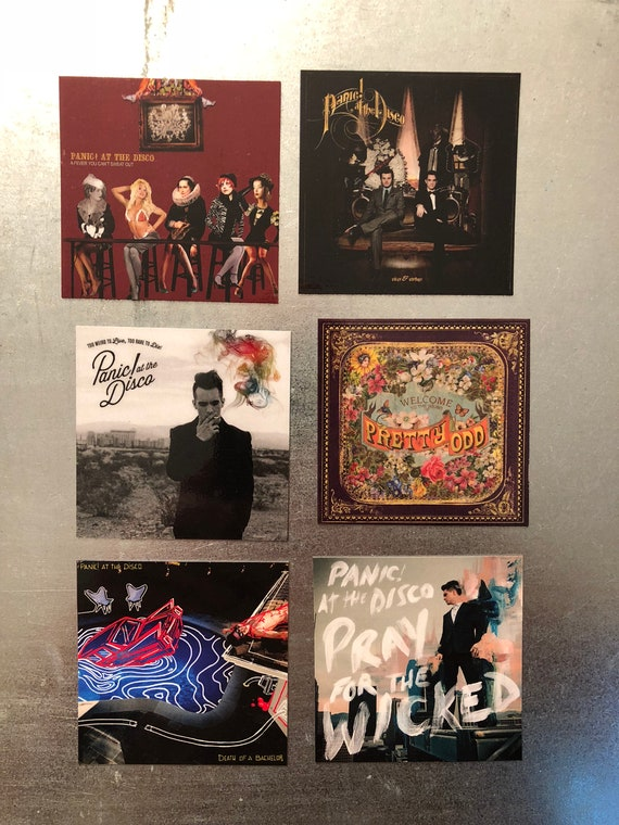 Panic At The Disco Magnets Pop Rock Punk Emo Power Baroque