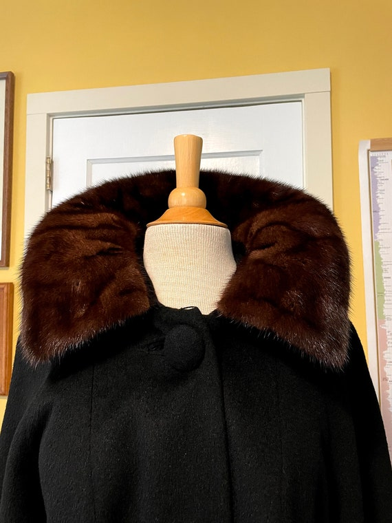 1960s I. Magnin swing coat - image 4