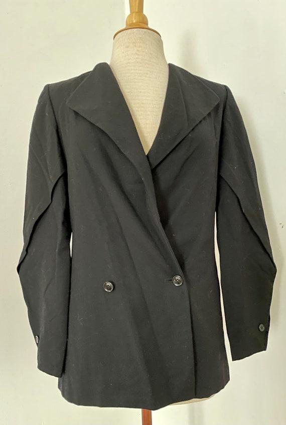 1980s Shamask I. Magnin wool blazer