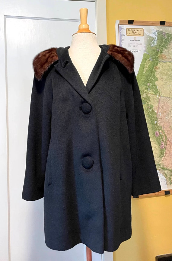 1960s I. Magnin swing coat - image 1