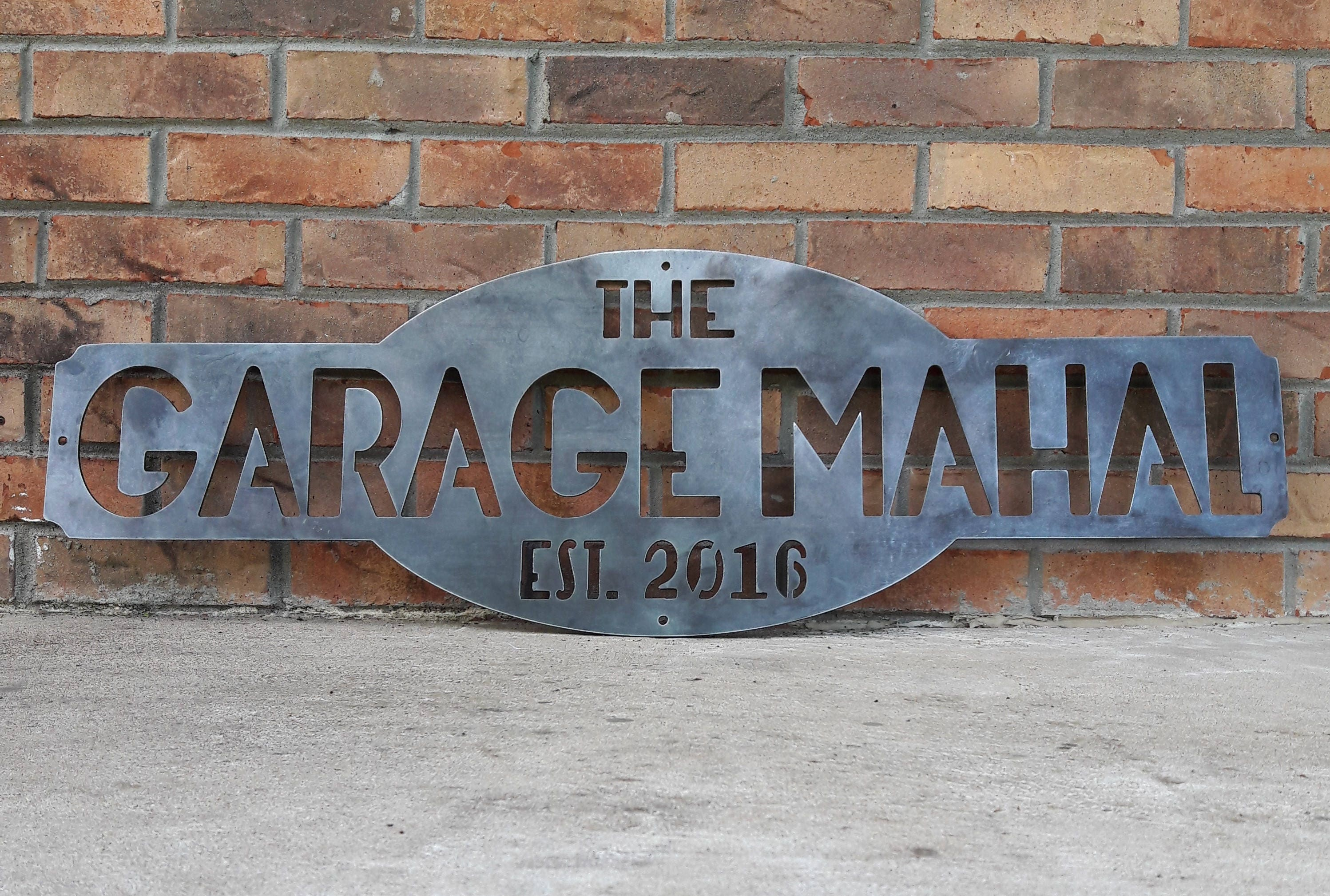 Custom Jeep Garage or Wall Sign  Mancave Sign  Last Name Sign