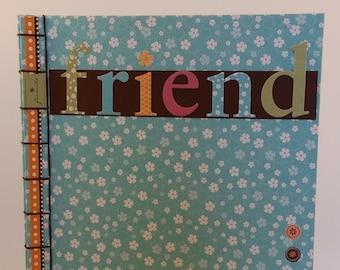 Friend Handmade Notebook