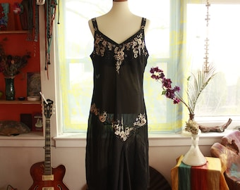 Silk Beaded Dress