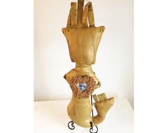 Pants Dolls--Art Doll Line--Olokun of the Galaxy--Olokun For Tamir Rice