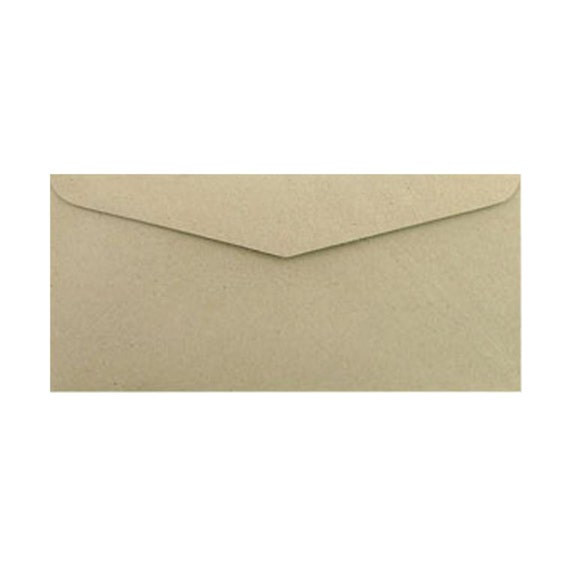 50 pack kraft paper envelopes size 4 1 4 x 9 1 4 inches etsy