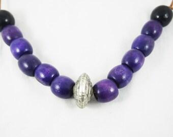Purple Statement Necklace Perfect Birthday Gift Best Girlfriend