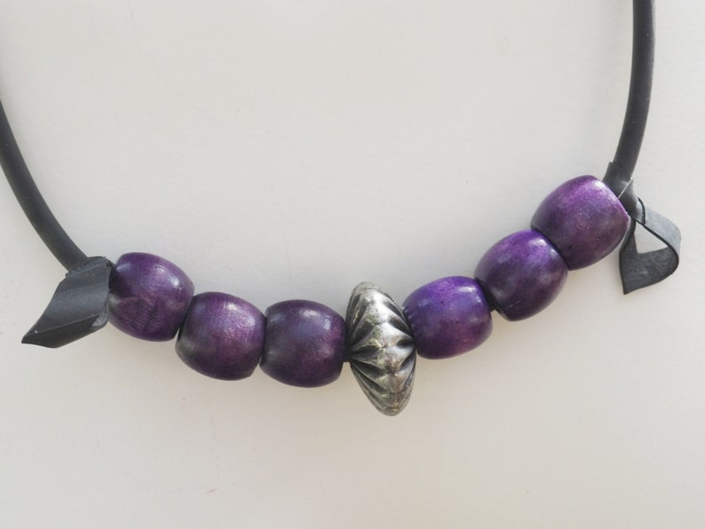statement jewelry special presents for special people this purple Neck peace makes you happy And brightens  up your Day