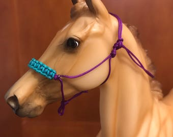 Model Horse Rope Halter