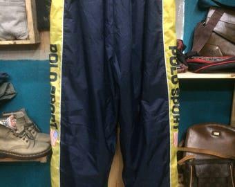 f93f562ed Offer Me!!! vintage Polo Sport Ralph Lauren windbreaker track bottom pants  made in USA