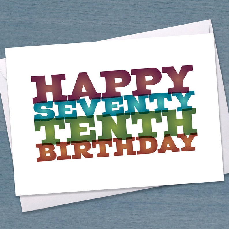 80th Birthday Card Funny Big 8 0 Eightieth