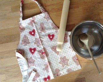 Toddlers cooking apron