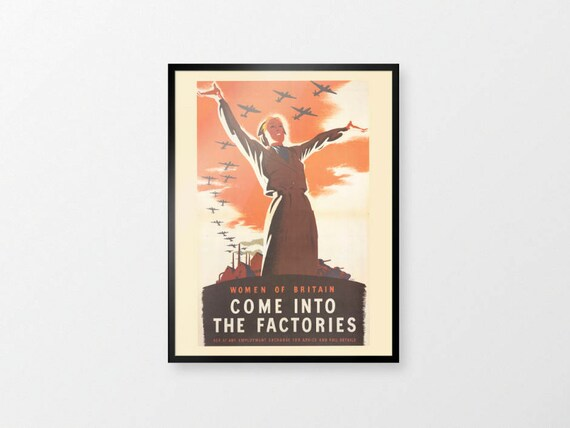 Winston Churchill Quote Poster Second World War Print Collectibles Replica