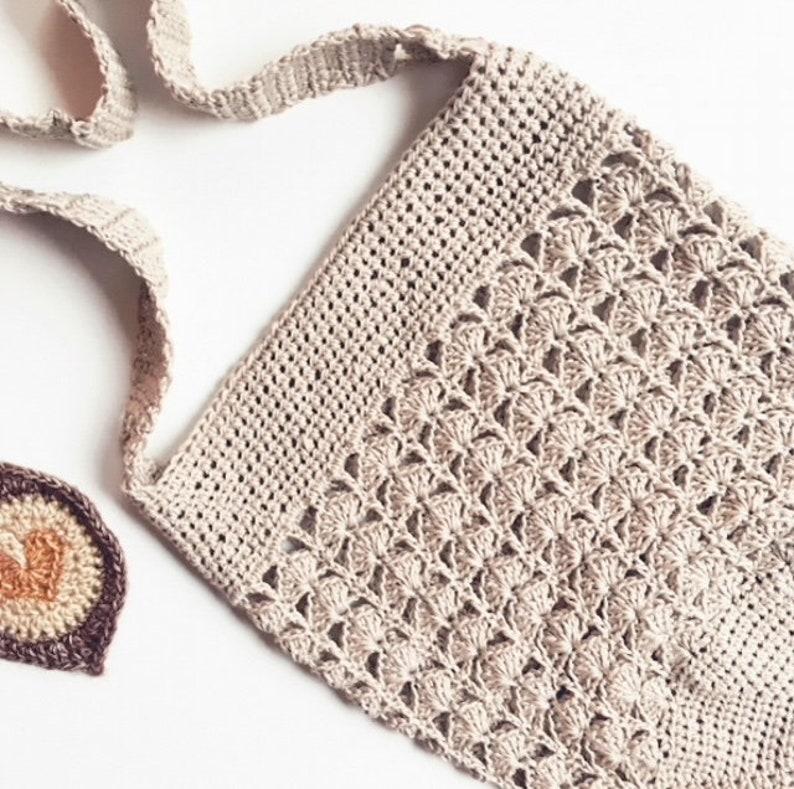 Poseidon market bag  crochet pattern image 0