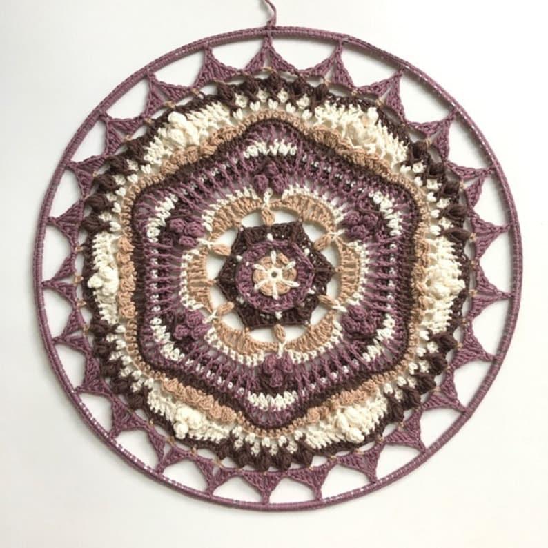 The Shangri mandala  Crochet pattern image 0