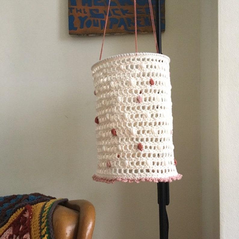 Dottie hanging lantern  crochet pattern image 0