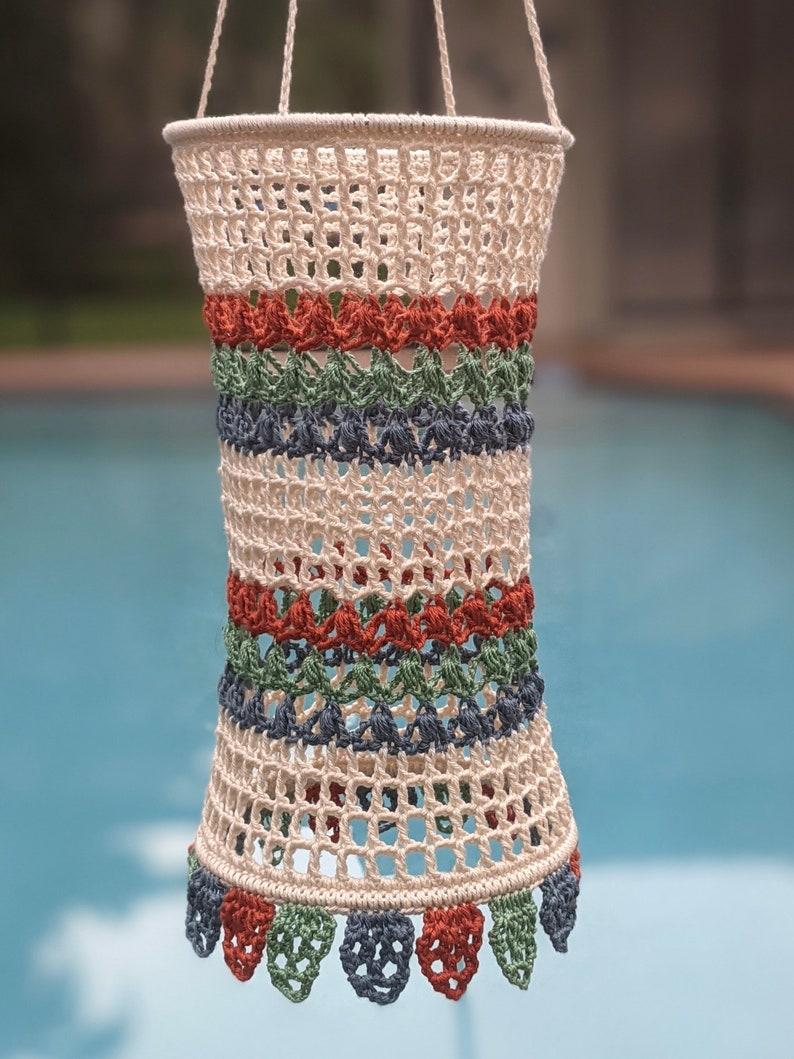 Gran Festa Lantern  Crochet pattern image 0