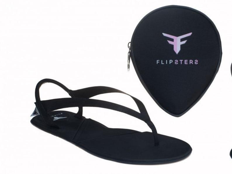 900f325c2dfe73 Foldable flip flops black flip flop women flip flop beach