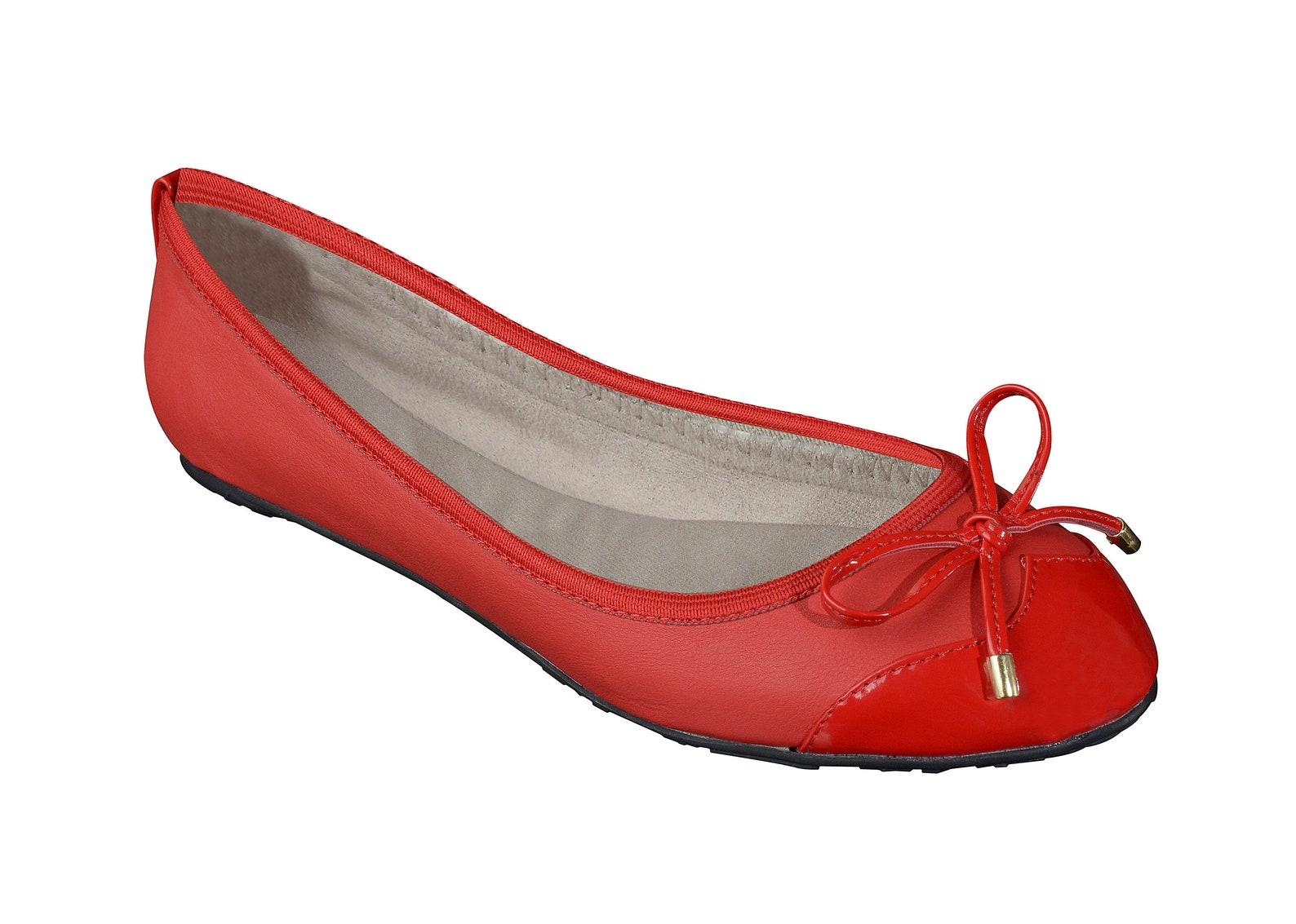 foldable ballet flats - red ballet flats, wedding flats, bridal party gifts, bridal flats, wedding shoes, bridesmaid gift, gift