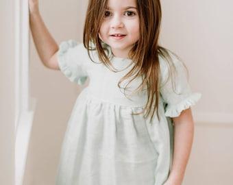 027a4a9e842 SS19-01-45   IVORY   MINT   orange   baby girl dress   toddler dress    dress   summer dress   toddler girl clothes   baby   gauze dress
