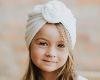 Honey Baby Toddler Boys Girls Indian Style Stretchy Solid Turban Hat Hair Head Wrap Cap Mother & Kids Hats & Caps