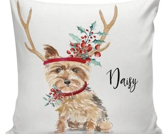 Home Textile Bulldog Cushion Case Oil Painting Dog Pet Schnauzer Pillow Case Retro Settee Holiday Gift Throw Pillow Square Burlap Designer