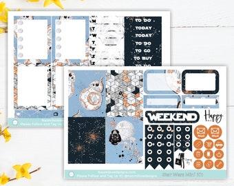 NEW* Star Wars Mini Kit   Planner Stickers   ECLP