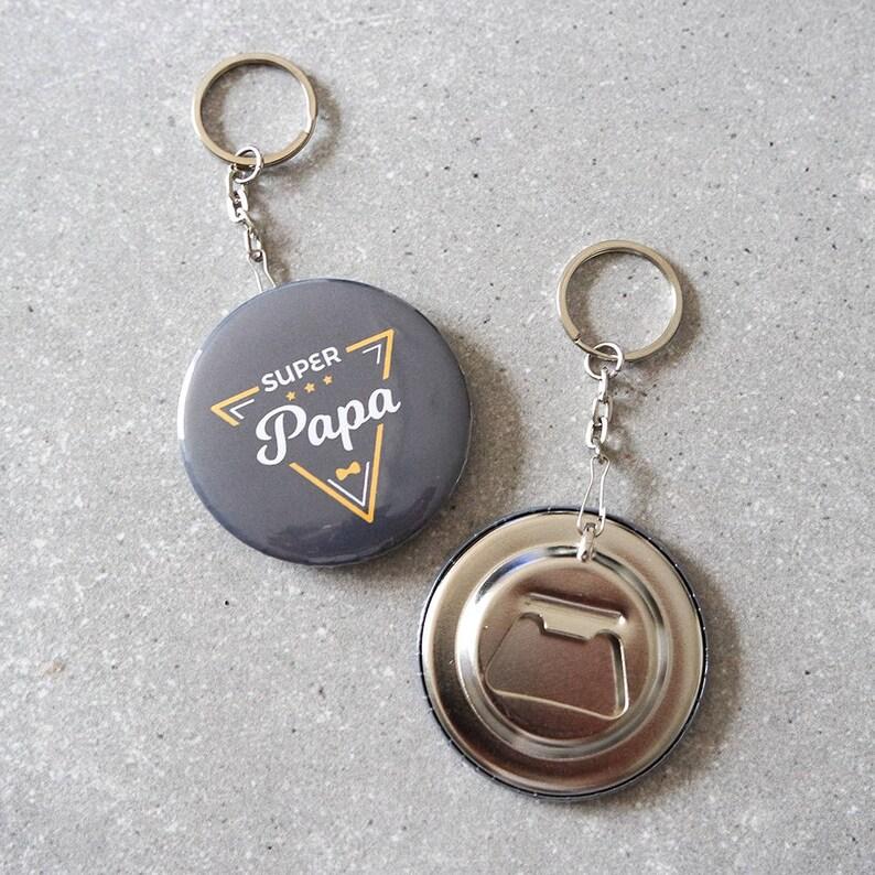 Décapsuleur porté-clés SUPER PAPA image 0