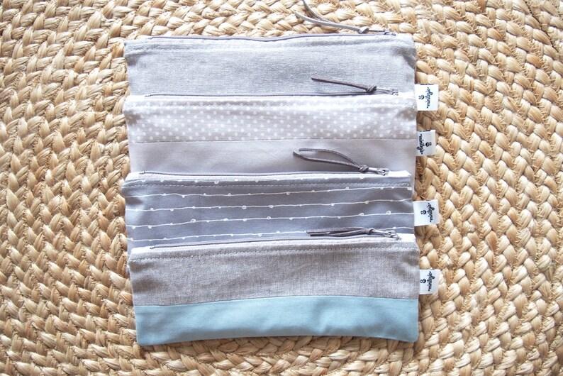 Reusable Snack Bag Reusable Zipper Bag Reuse Bag Zipper image 0