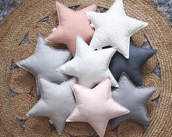 Star pillow, Star Shaped Pillow, Star cushion, baby pillow, Nursery Throw Pillows,Star nursery decor,kids pillows, Baby gift,kids room decor