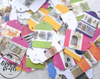 Grab Bags - Washi Samples | 50cm Washi Tape Samples | 24'' Washi Samples | | Width>2cm |Mysterious box