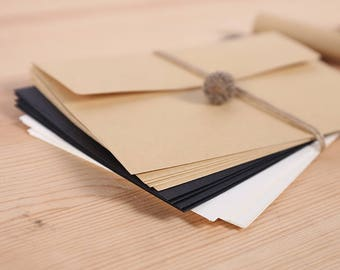 Envelope| Love Notes | Packaging | Paper Crafting |Square Envelopes| Gift Card Envelopes