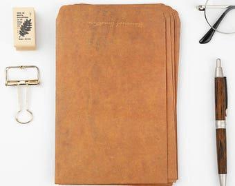 Vintage Kraft Envelope| Love Notes | Packaging | Paper Crafting |Square Envelopes| Gift Card Envelopes