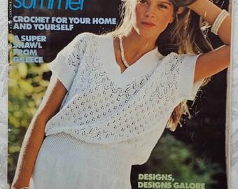 377cc3923d8db0 Mon Tricot Knit & Crochet, Summer MD-65, June 1979, crochet and knitting