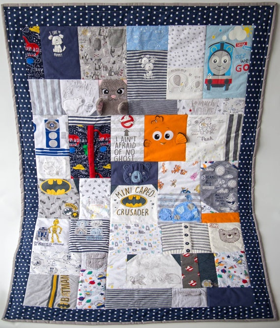 b100c9fbeaad baby memory quilt a baby keepsake blanket created out of