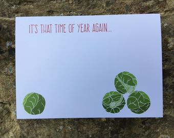 TUMBLING SPROUTS // Christmas Card